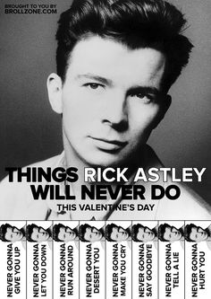 Get Lyrical This Valentine's Day With These Celebrity Tear-off Flyers | Bored Panda