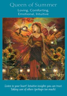 Oracle Card Queen of Summer | Doreen Virtue | official Angel Therapy Web site