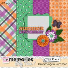 Connie Prince Digital Scrapbooking News: My Memories Blog Hop*