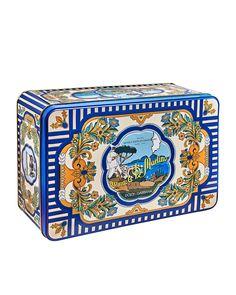 Di Martino Dolce & Gabbana Tin Box Napoli | Neiman Marcus Best Gifts, Nice Gifts, Gourmet Gifts, Tin Boxes, Neiman Marcus, Luxury Fashion, Decorative Boxes, Top Designers, Bergdorf Goodman