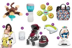 Here Comes Baby - Your bundle of joy comes with bundles of gear. These items help prepare for your baby's arrival.