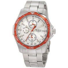 Armitron Men's 20/4677SVOR Silver-Tone Orange Bezel Multi-Function Stainless Steel Watch (Watch)  http://www.amazon.com/dp/B005P4WK22/?tag=quickdiet0f-20  B005P4WK22