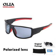357f8386e Barato 2016 quentes polarizadas de pesca óculos de sol do esporte homens  óculos de sol masculino