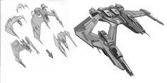 Vanduul - Concept work from Chris Robert's STAR CITIZEN