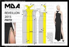 A3 NUMo 0161 DRESS - BLACK REVEILLON