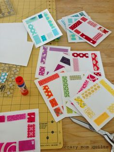 crazy mom quilts: tiny scraps are useful, too