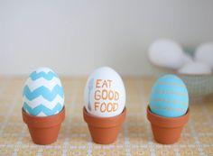 Mini Easter Egg Planters
