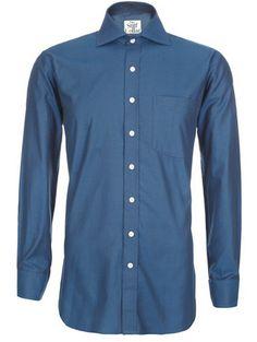 Midnight Blue Oxford Full Sleeves