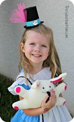 DIY Mini Top Hat Alice in Wonderland Mad Hatter Tutorial