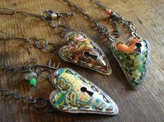 Tin can jewellery