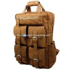 Canvas Travel Bag, Backpack Travel Bag, Laptop Backpack, Fashion Backpack, Backpack Handbags, Brown Backpacks, Backpack Online, Leather Bag, Leather Backpack