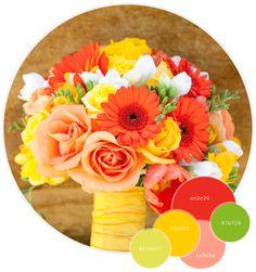 Festive Fall Bridal Bouquet Inspiration