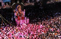 The Lalbaugcha Raja is one of the more famous Ganesh Mandals in the city as the devout believe that He will grant their every wish. Photo by Satish Malavade