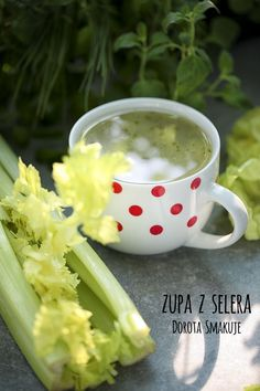 zupa_z_selera Soup, Meals, Cooking, Ethnic Recipes, Smoothie, Per Diem, Cuisine, Smoothies, Kitchen