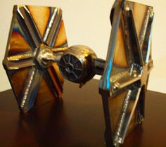Tie Fighter Sculpture Original Concept by ArtisianAbstracts