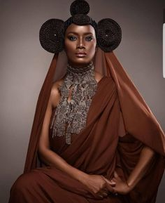 african fashion is high fashion African Hairstyles, Afro Hairstyles, African Beauty, African Fashion, Skin Girl, Hair Afro, Pelo Natural, Afro Punk, My Black Is Beautiful