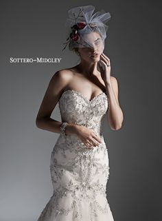 Sottero and Midgley fashion designer wedding dresses and wedding gowns Bridal Veils And Headpieces, Bridal Gowns, Wedding Gowns, Wedding Lace, Fit And Flare Wedding Dress, One Shoulder Wedding Dress, Sottero And Midgley Wedding Dresses, Lace Weddings, Designer Wedding Dresses