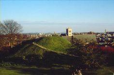 Cambridge Castle mound.