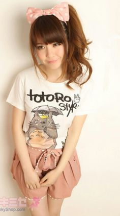 .Kawaii/Asian Fashion ~  Totoro!!! XD Very cute