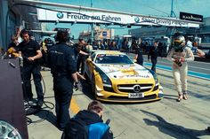 Motorsport Racing, Nuerburgring, Germany; Mercedes SLS - Attended many races there.