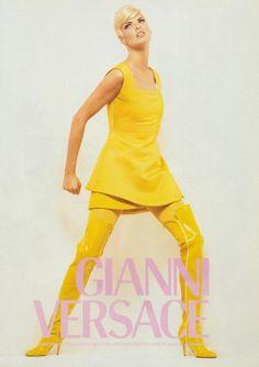 Linda for Gianni Versace, 1991