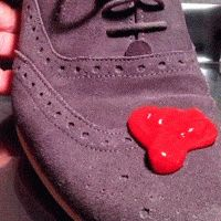 Stain proof shoes