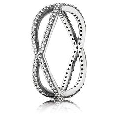 PANDORA Crossing Paths Ring ~ Valentine Collection
