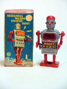 Japanese Tin Space Toys 1950′s – 1960′s