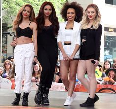 Little Mix perform live on the 'Today' show as part of NBC's Toyota Concert Series - 17 June 2014