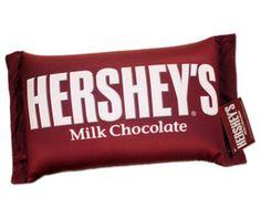 Hershey's pillow