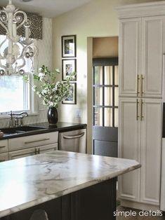 Smitten Kitchen, Updated Kitchen, New Kitchen, Kitchen Decor, Kitchen Ideas, Kitchen Grey, Kitchen Updates, Kitchen Wood, Kitchen Cabinetry