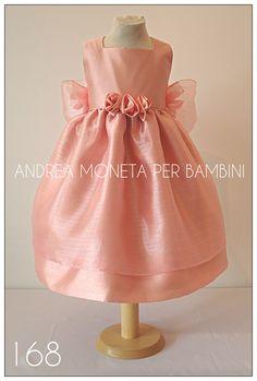 168_Vestido_Rosa_Viejo_Bebe_Niña_Pink_Dress_Baby_or_Girl_Andrea_Moneta_Per_Bambi
