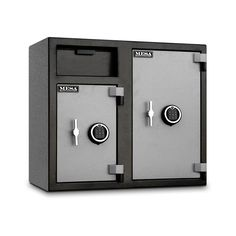 MESA's MFL Series Depository Safes are designed for protection against robbery as well as internal theft, allowing quick deposits and secure storage for cash. Garage Tool Storage, Secure Storage, Garage Tools, Locker Storage, Cash Safe, Money Safe, Safe Company, Safe Lock, Electronic Lock