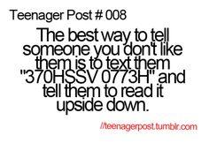 Teenager Post #008