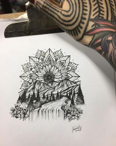 ⛰Draw the design for customer this evening #mandalatattoo #mandala #mountains #mountaintattoo #dotworktattoo #tattoo #tattoos #tattooed #tattoo #inked #ink #tattoodesign #tattooing #tattoolife #tattooart #tattooartist #tattoogirl #goodvibes #travel #traveling #thailand #paithailand #getink #pai #backpacking #artwork #art #blackink #blacktattoo #tattooer #tattoolover #tattooer