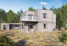 """""""En känsla av Provence"""" Båstad typ C är en modell med många möjligheter. Ett välplanerat hus med många smarta lösningar. Utgångsläget är ett villa med..."""