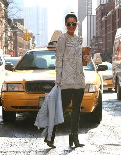 Meu Look: Moletom bordado – NY Fashion Week