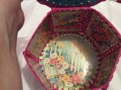 Card Basket, Greeting Card Box, Crochet Box, Card Boxes, Card Crafts, New Things To Learn, Gift Tags, Repurposed, Baskets