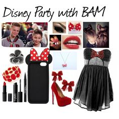#imagine going to a Disney party with Bars and Melody