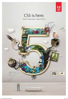 CS5 by AJ Joseph, via Behance