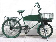 My next bike should be like this, for carrying ALL THE THINGS.