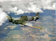 """""""Will we ever see a BBMF Hurri in this configuration?"""" KB Hawker Hurricane"""