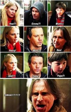 The OUAT family tree stuff be the most complicated confusing stuff ever, ya know? Best Tv Shows, Best Shows Ever, Favorite Tv Shows, Movies And Tv Shows, Once Upon A Time Funny, Once Up A Time, Family Humor, Funny Family, Killian Jones