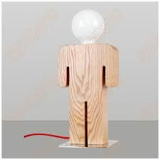 lampade legno - Cerca con Google