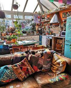 Dream House Interior, Dream Home Design, My Dream Home, Boho Home, Aesthetic Room Decor, Home And Deco, Dream Rooms, Home Decor Inspiration, Sweet Home