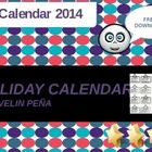 Calendar worksheet that shows all U.S Federal holidays. It´s a full year calendar. This is a great worksheet to go along with learning about federa...