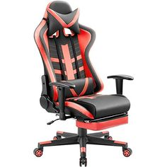 Exclusive Gaming Office Desk Chair Pu Leather 2 Tone Matched Stitching Uk Seller