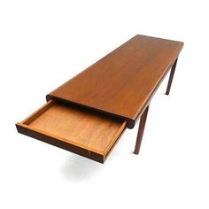 Combining quality craftsmanship with elegant design and simple lines, this Teak Coffee Table makes a beautiful and architectural piece for any space. Gather round its reclaimed teak wood surface, which is durable, easy to clean, and low-maintenance.