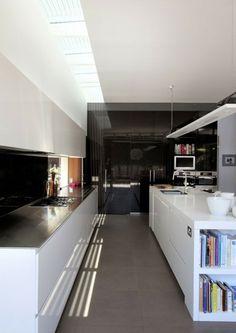 aménagement cuisine: triangle équilatéral fonctionnel