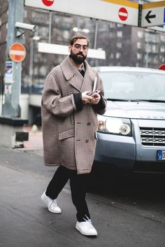 Milan Fashion Week Men's (Feb. 2017) - Streetstyle (Día 2) - if i was a boi